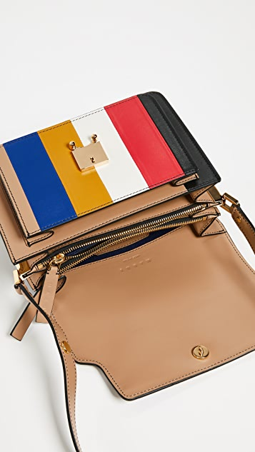 Marni Stripe Shoulder Bag