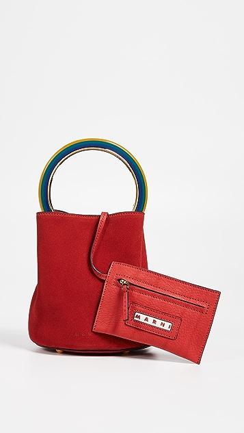 Marni Circle Handle Shoulder Bag