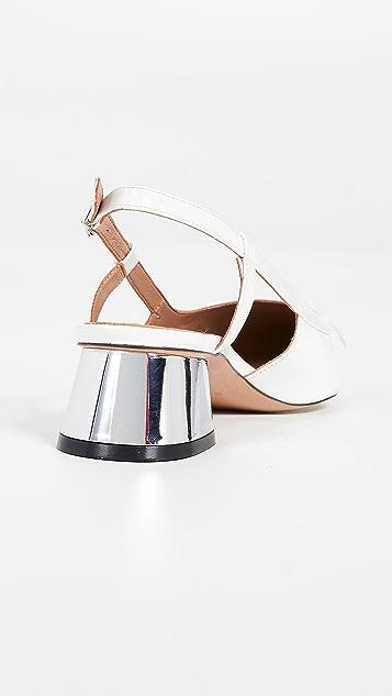 Marni Туфли-лодочки с ремешком на пятке