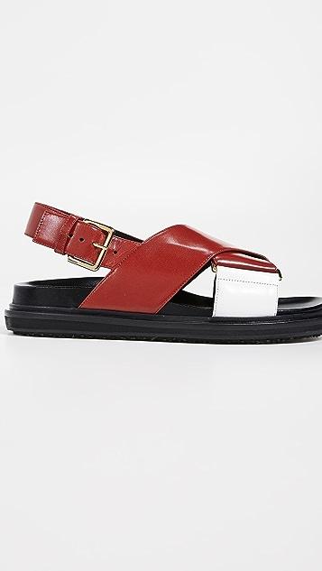 Marni Fussbett 凉鞋