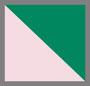 Light Pink/Forest Green