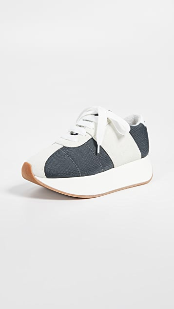Marni Platform Sneakers - Grey