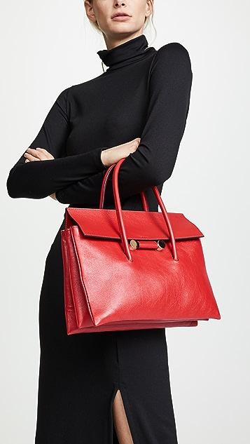 Marni Caddy Soft Top Handle Shoulder Bag