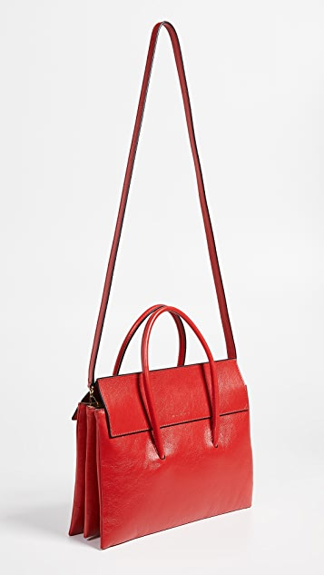 Marni Caddy Soft Top Handle Shoulder Bag
