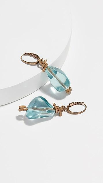 Marni Resin and Metal Earrings