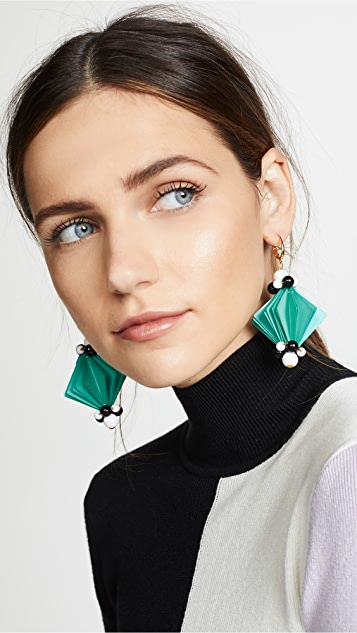 Marni Square Earrings