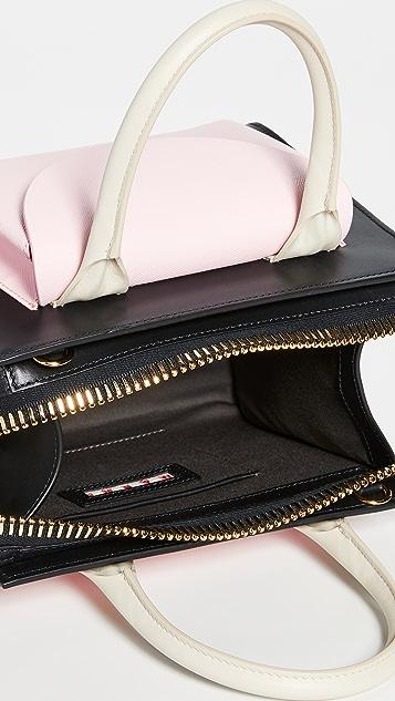Marni Объемная сумка с короткими ручками