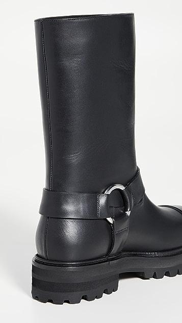 Marni 长至小腿中部的中筒靴