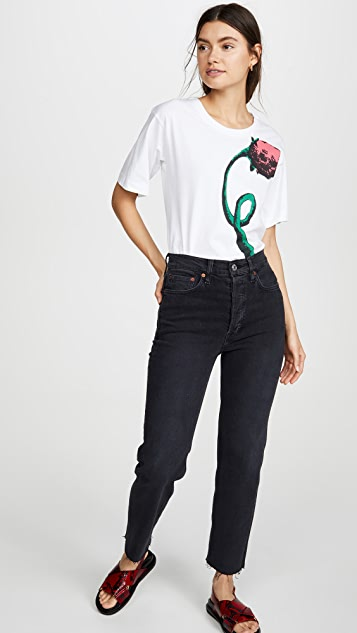 Marni 花朵印花 T 恤