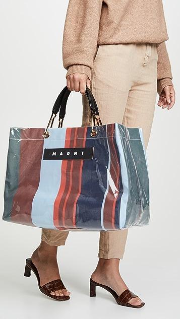 Marni Large Grip Shopping Bag