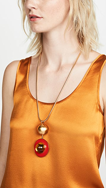Marni Metal and Resin Necklace