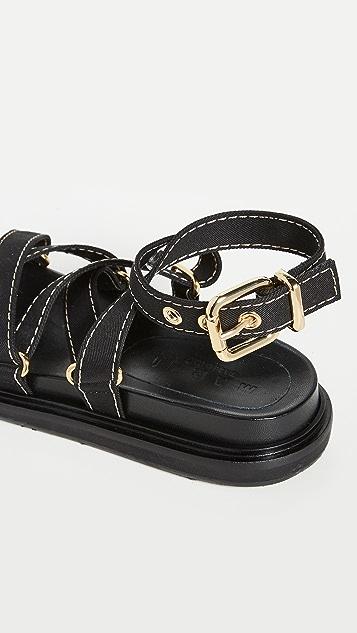 Marni Wrap Sandals