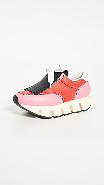 Marni 厚底运动鞋底运动鞋
