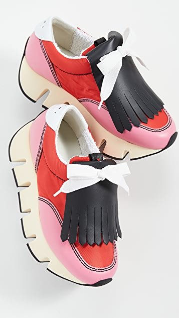 Marni Platform Track Sole Sneakers