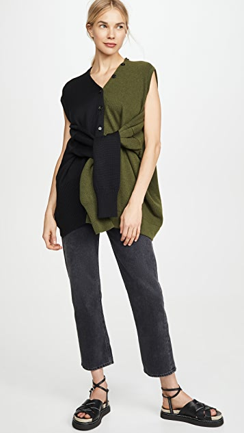 Marni Colorblock Cardigan