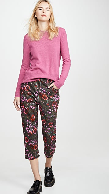 Marni Floral Jean Trousers