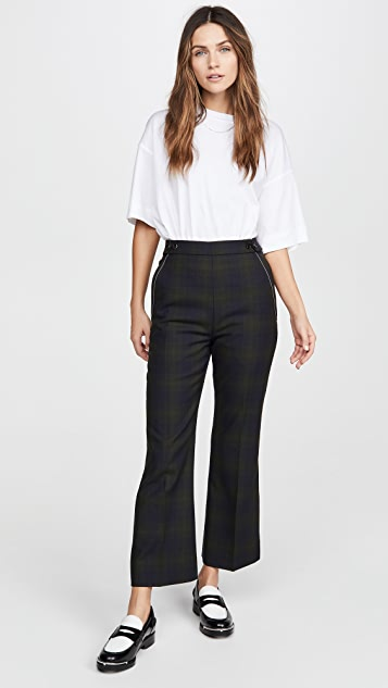 Marni Plaid Trousers