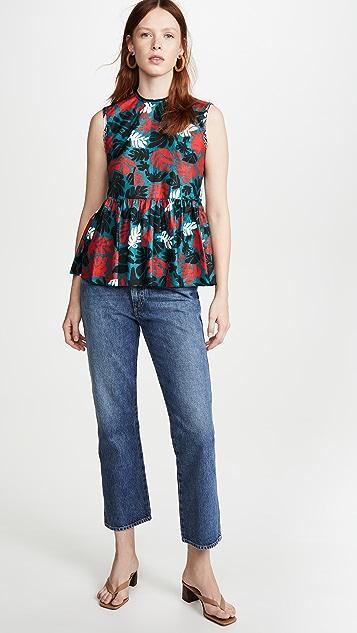 Marni 花卉印花女式衬衫