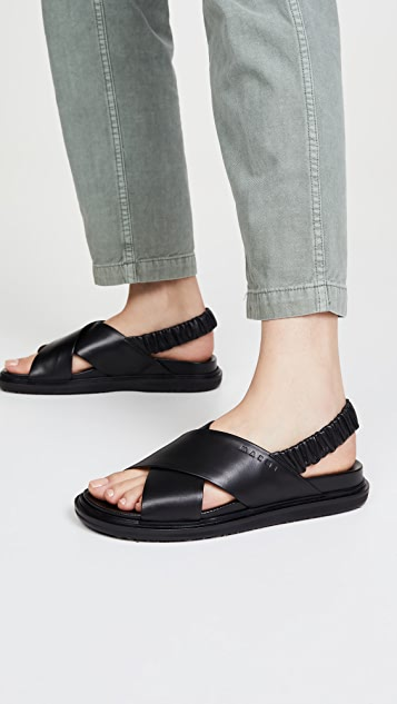 Marni Fussbett 露跟凉鞋