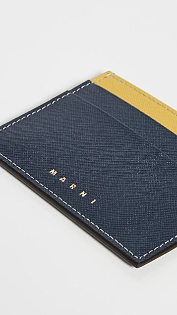 Marni 拼色卡片包