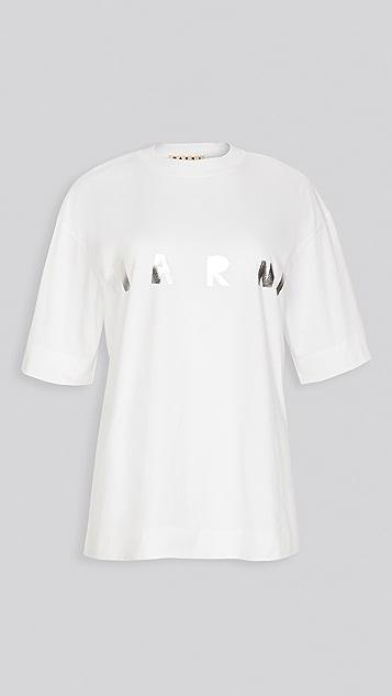 Marni 短袖圆领 T 恤