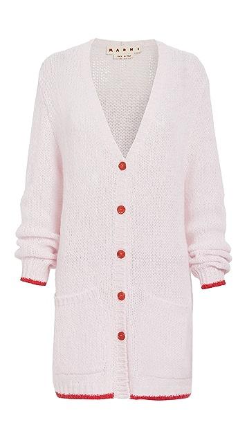 Marni Long Sleeve Cardigan