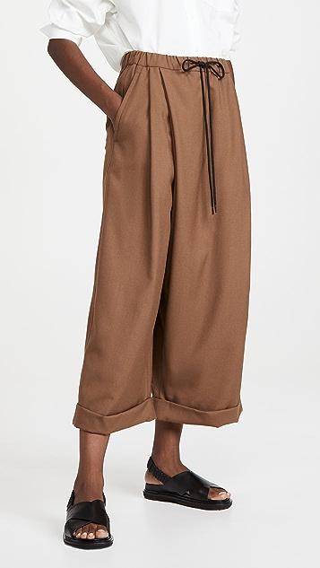 Marni 阔腿裤