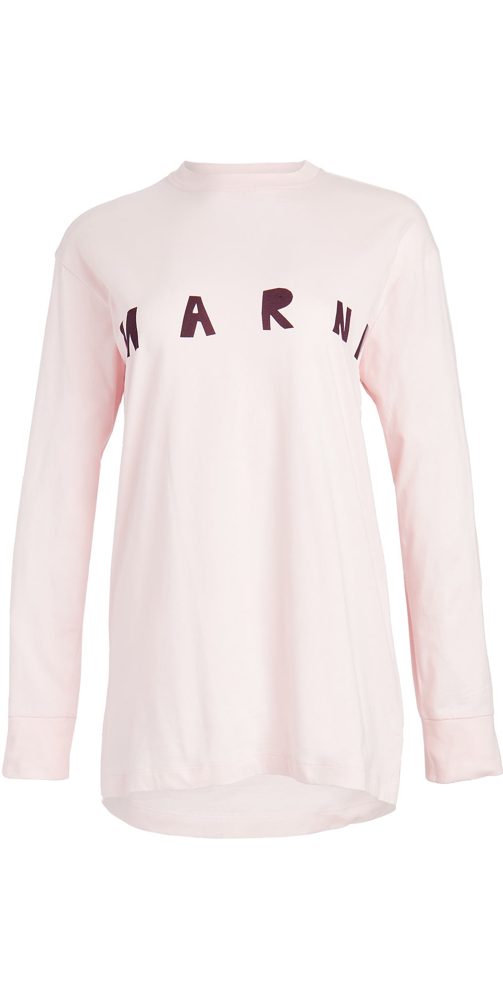 Marni Long Sleeve Crew Neck Shirt
