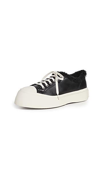 Marni Gum Soled Lace Up Sneakers