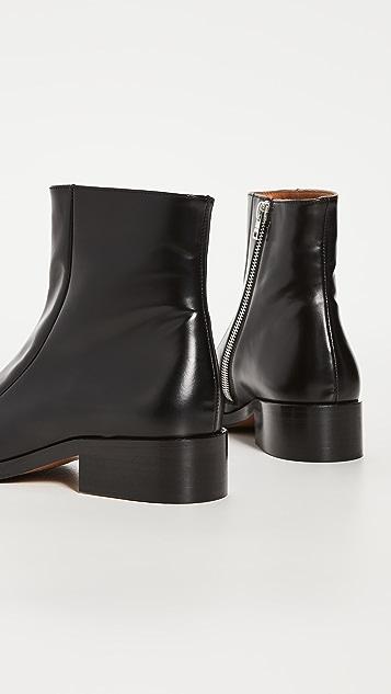 Marni 方头靴