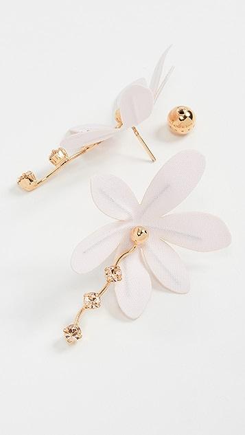 Marni 织物和金属耳环