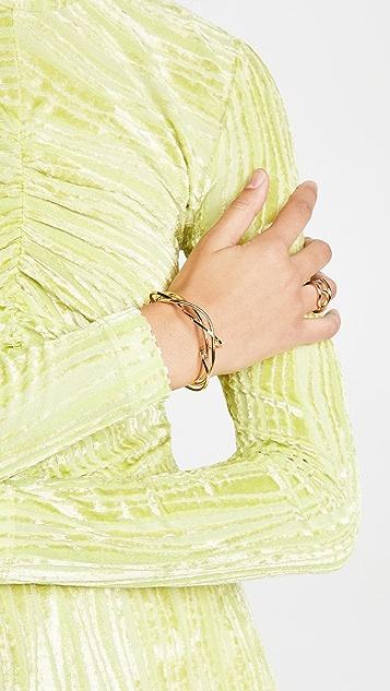 Marni 金属色手链
