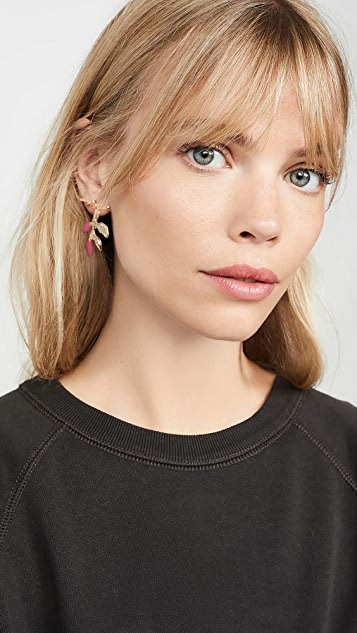 Marni Enamelled Metal Earrings