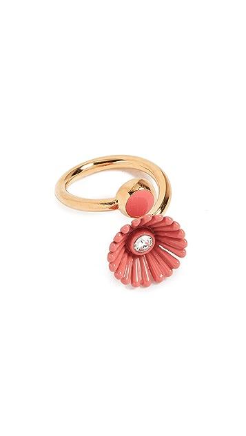 Marni Enameled Flora Ring