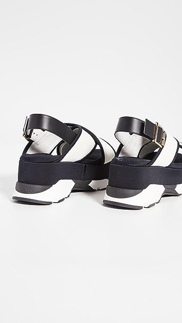 Marni Track Sole Sandals
