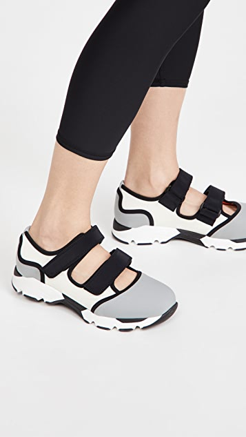 Marni 双重固定带运动鞋