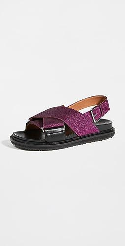 Marni - Fussbett Sandals