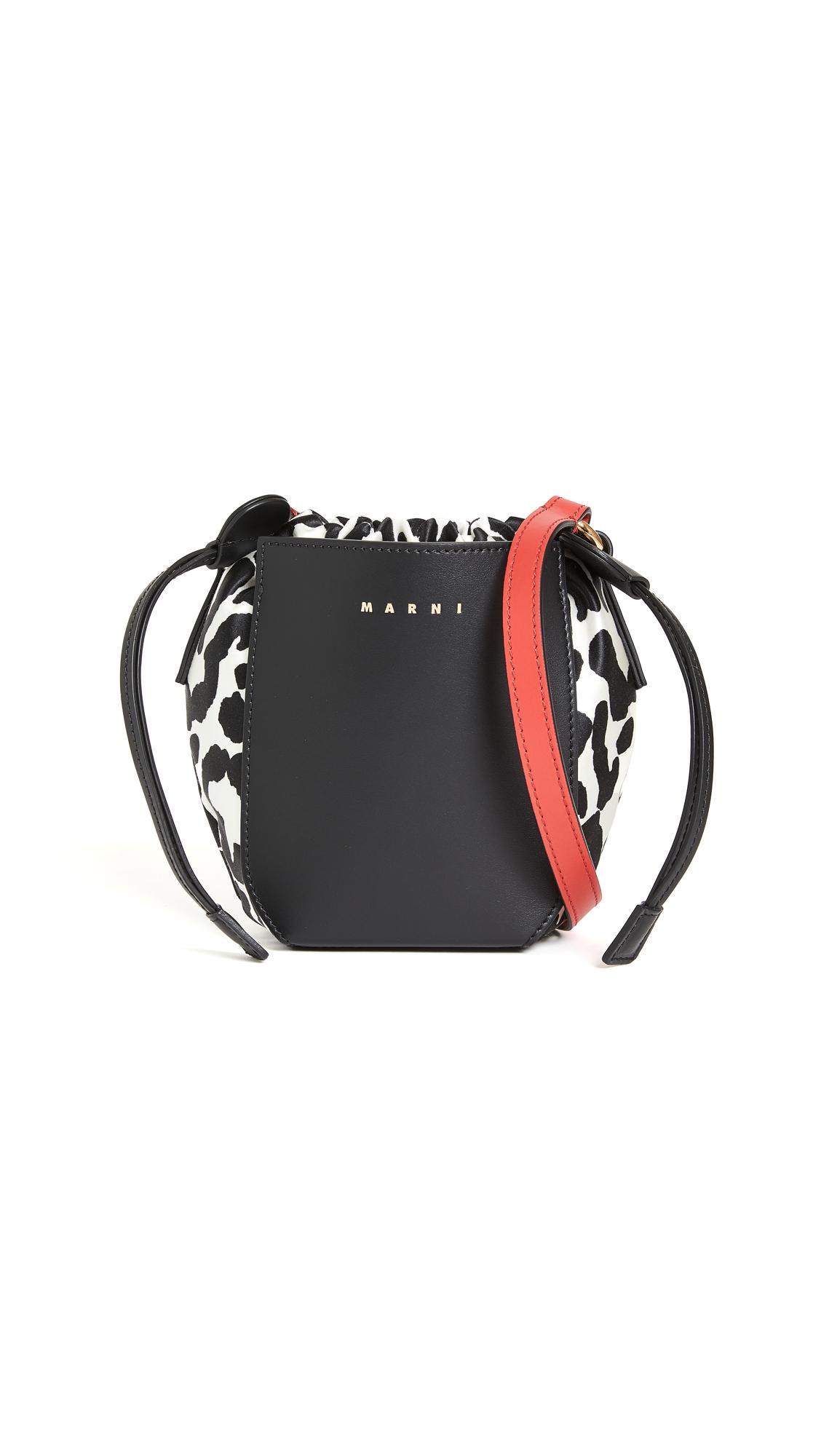 Marni Drawstring Shopping Bag