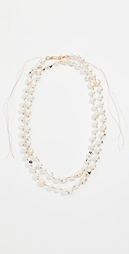 Marni - Glass Pearl Necklace