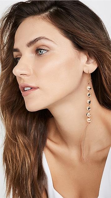 Marni 玻璃珍珠耳环