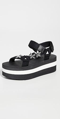 Marni - Stones Hiking Wedge Sandals