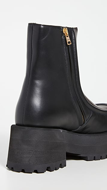 Marni Chunky Heel Ankle Boots