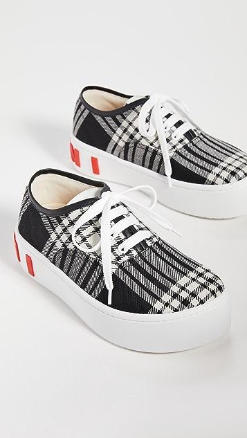 Marni 系带运动鞋