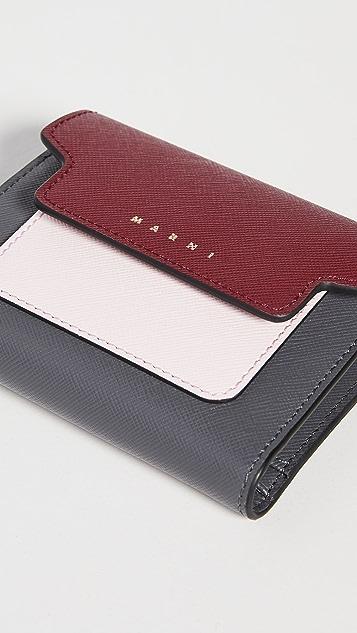 Marni Squared Flap Wallet