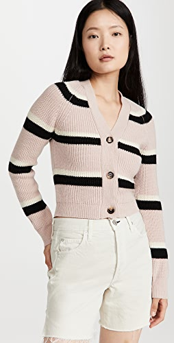 Marni - 条纹系扣衫