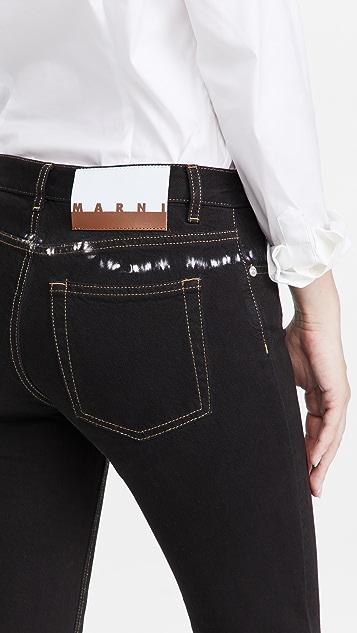 Marni 扎染牛仔裤