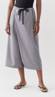 Marni Wide Leg Cropped Trousers