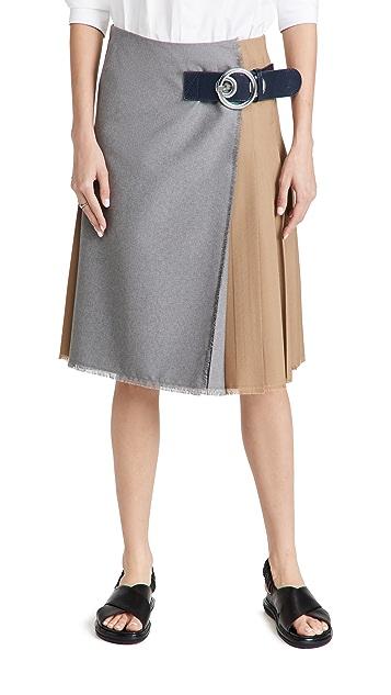 Marni 羊毛半身裙