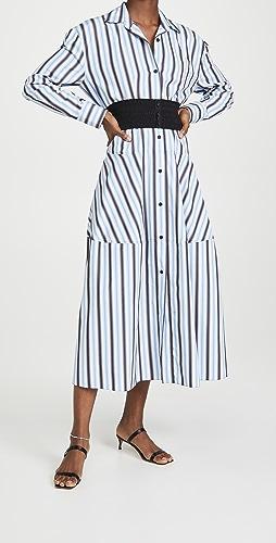 Marni - 系扣连衣裙