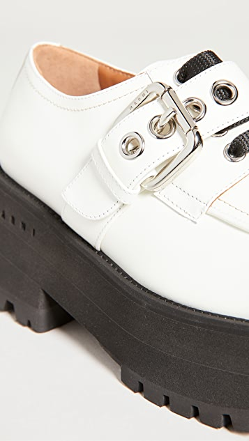 Marni Derby Buckle Shoes